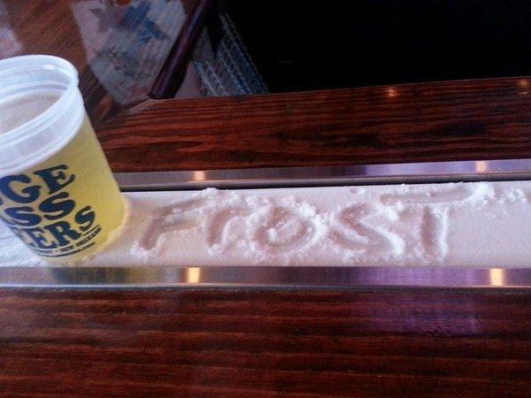 frost beer bar