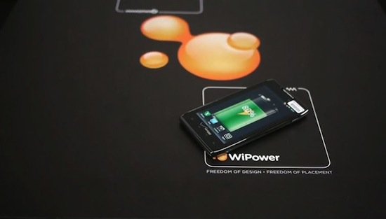 Wi power cordless charging phone