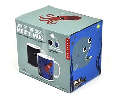 heat changing sea creatures mug box