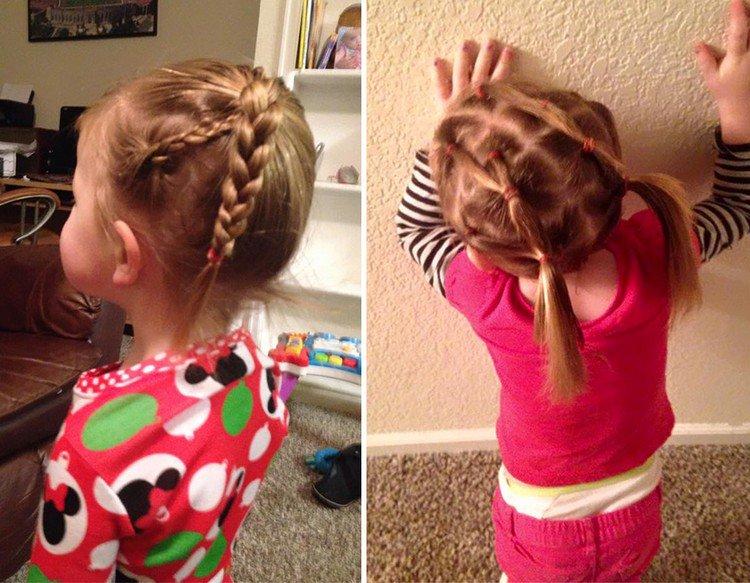 hair braids girl