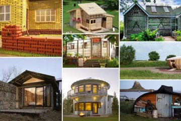 houses made from recycled items