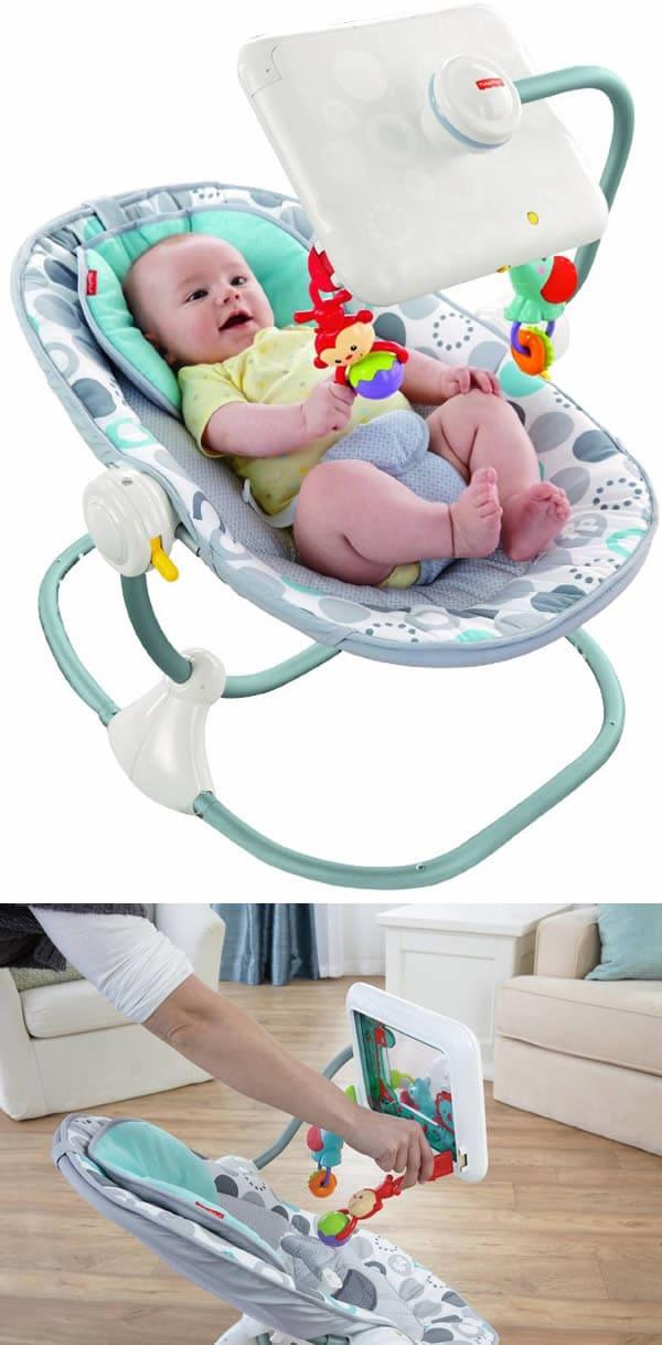 iPad baby chair