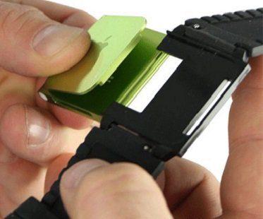 iPod Nano Watch Strap back