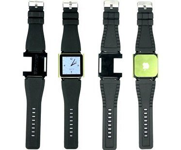 iPod Nano Watch Strap front back
