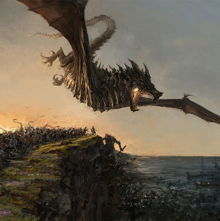 iceland-mythic-creatures-paintings-asgeir-jon-asgeirsson-dragon