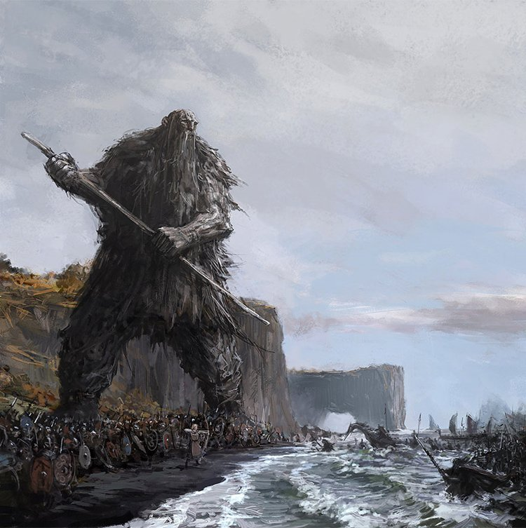 iceland-mythic-creatures-paintings-asgeir-jon-asgeirsson-giant