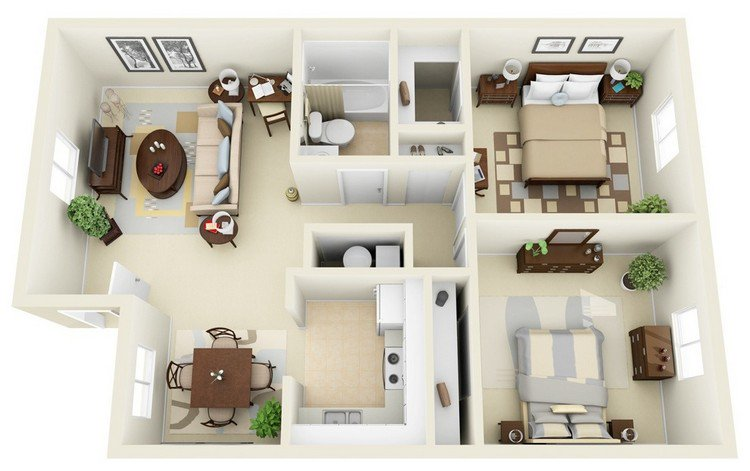Incore Residential Two Bedroom