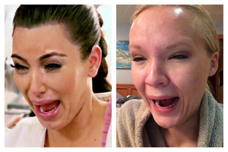 kardashian face