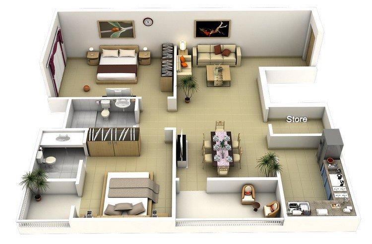 large apartment tec n gen