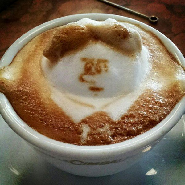 latte man
