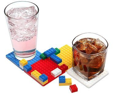 lego coaster set bricks