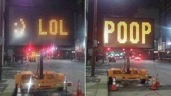 lol poop signs