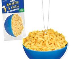 macaroni and cheese air freshener