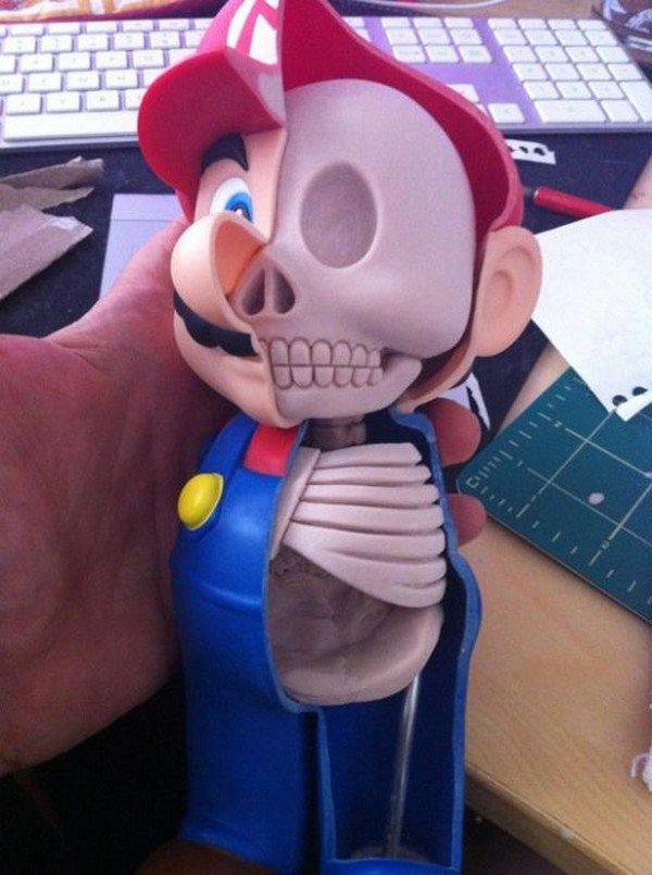 mario skeleton