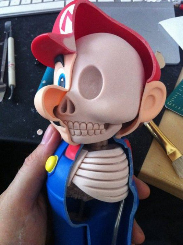 mario skull ribs