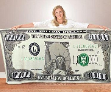 million dollar blanket throw