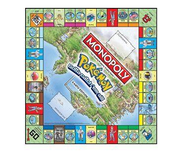 monopoly pokemon edition board
