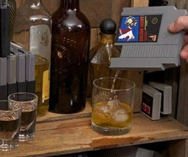 nes cartridge flasks concealed