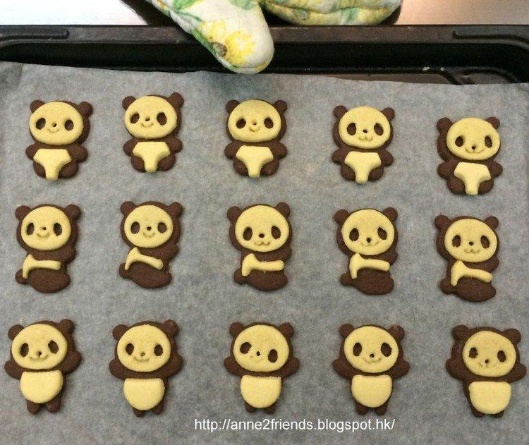 panda cookies