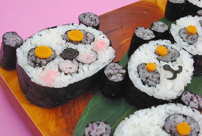 pandas sushi