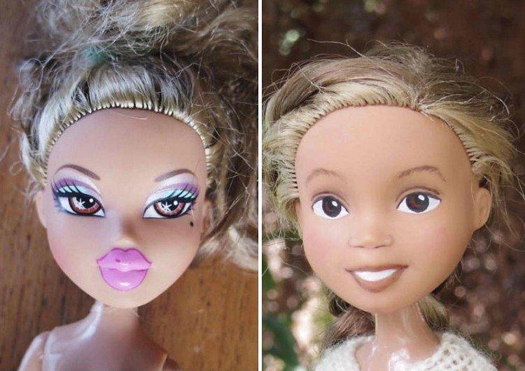 pony tail blonde doll