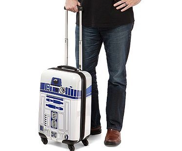 r2-d2 carry on luggage