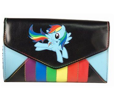 rainbow dash envelope wallet