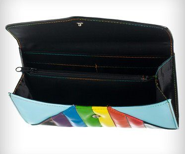 rainbow dash envelope wallet inside
