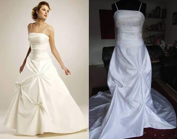 real fake dress