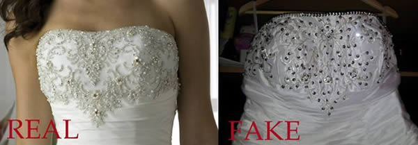 real fake top dress