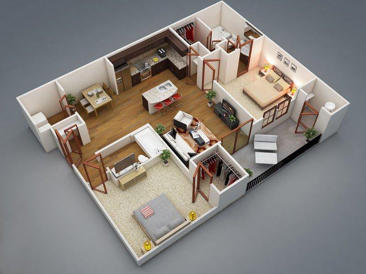rishabh kushwaha two bed apartment