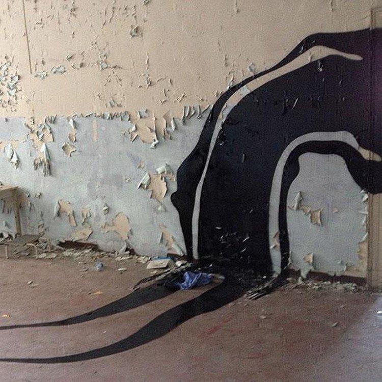 shadow floor wall