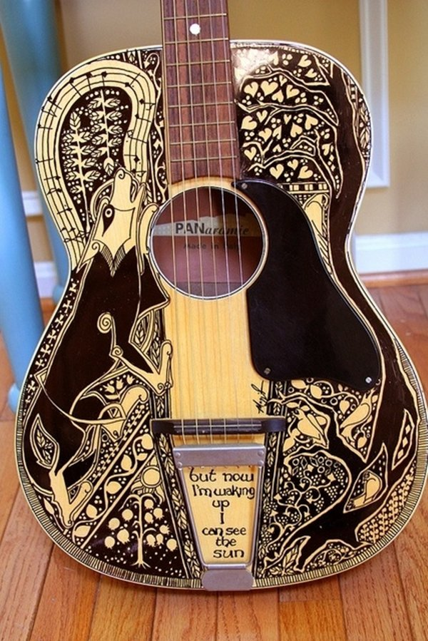 sharpie-guitar