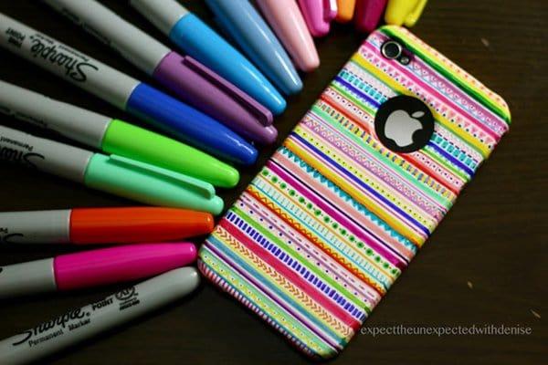 sharpie-phone-case