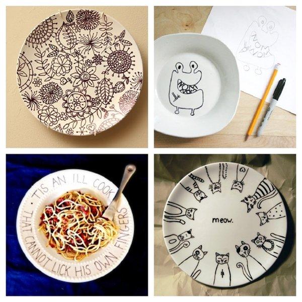 sharpie-plates