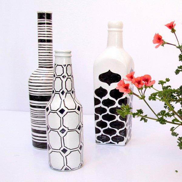 sharpie-vases