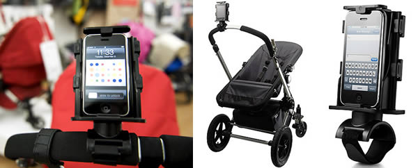 smartphone holder for baby strollers