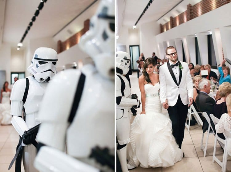 star-wars-theme-marriage-reception-storm-troopers