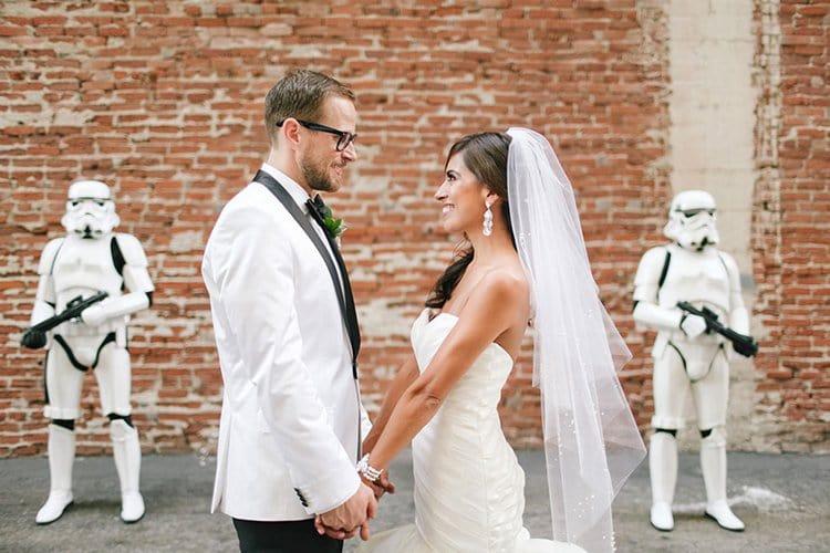 star-wars-theme-wedding-stare