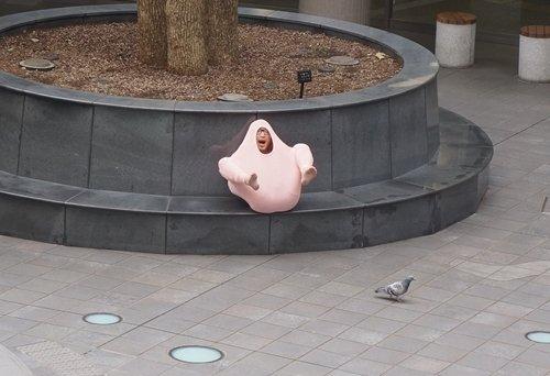 sweater guy outside