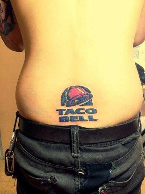 taco bell tattoo