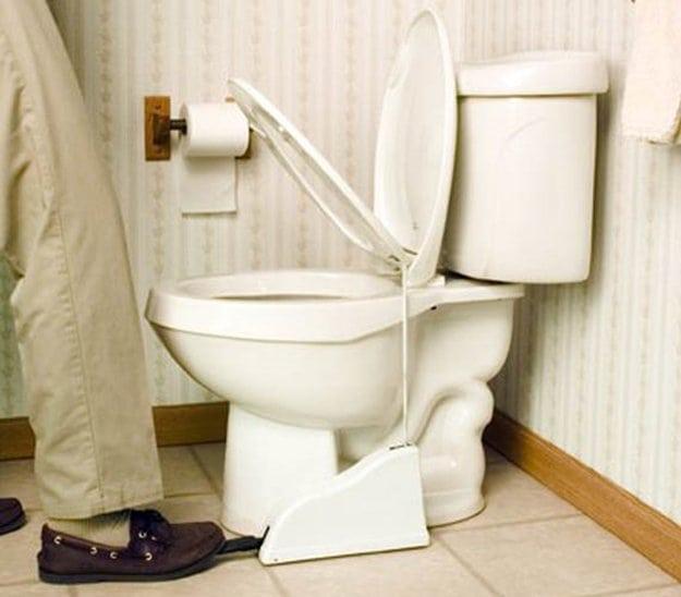 toilet-seat-pedal