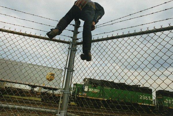 train-fence