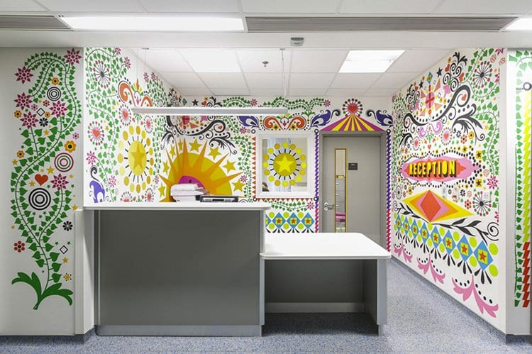 trauma-childrens-hospital-art-reception