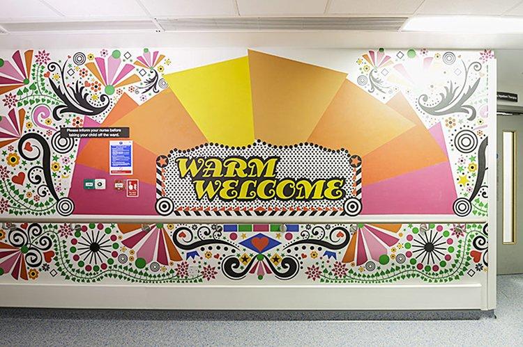 trauma-childrens-hospital-art-welcome