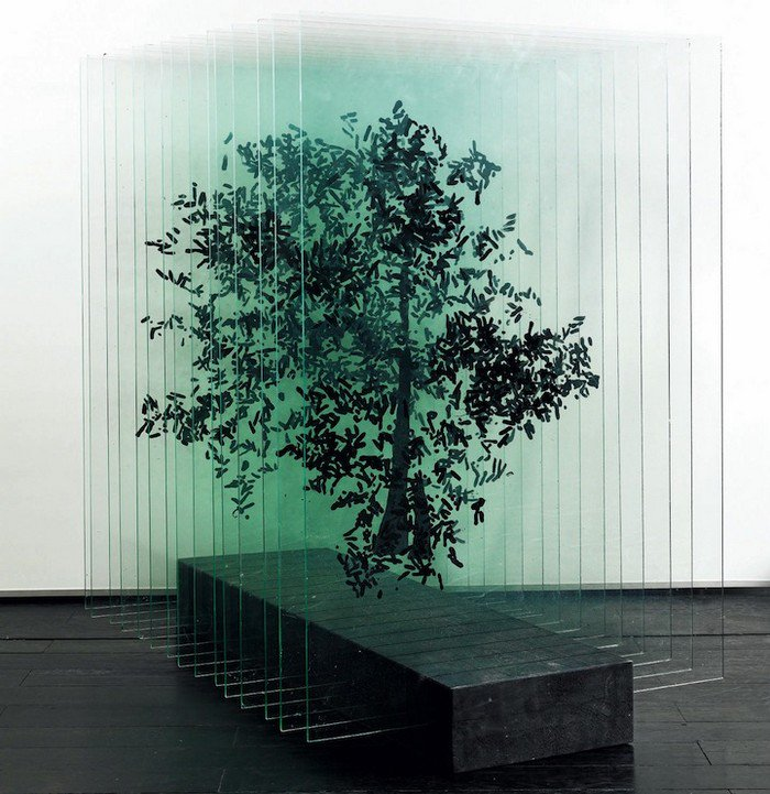 Artist Ardan Ozmenoglu Creates Beautiful 3d Trees Using