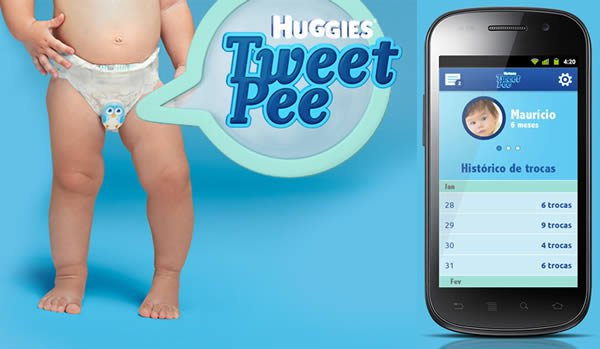 tweeting diaper