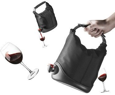 wine dispensing purse bag