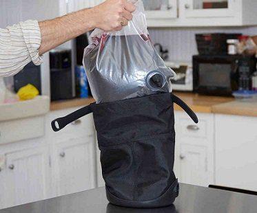 wine dispensing purse baggy
