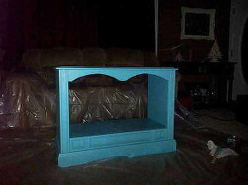 Travel Dog Bed >> Shona Lene Turned An Old Out-Dated Console TV Into A ...